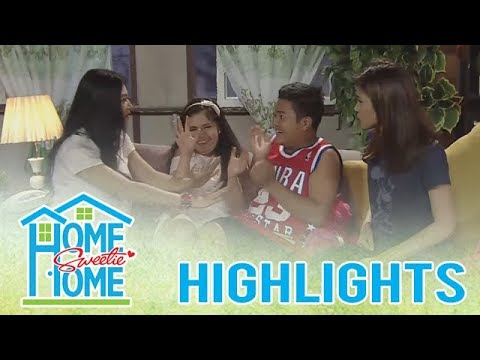 Home Sweetie Home: Rence and Ariana gets excited