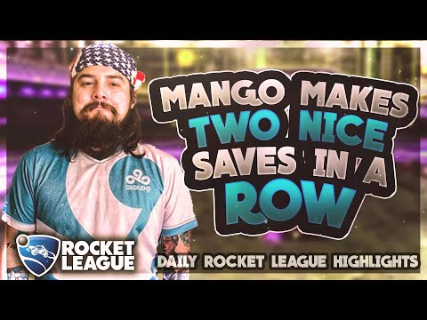 BEST Rocket League Moments: Mango makes two nice saves in a row thumbnail
