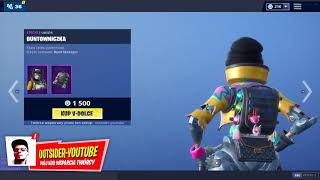 SKLEP FORTNITE 24.02 *ANDROIDY W SKLEPIE!* | Outsider - Daily Item Shop 24.02.19