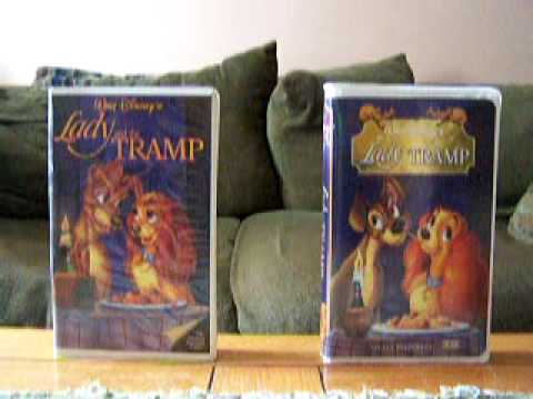 2 Different Vhs Versions Of Lady And The Tramp Youtube