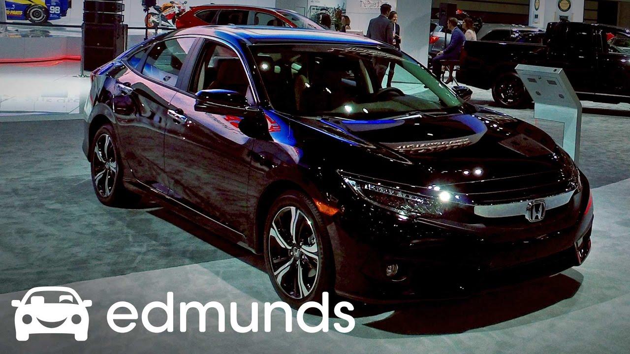 2017 Honda Civic Review Features Rundown Edmunds