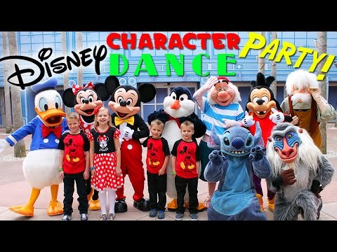 Disney Character Dance Party