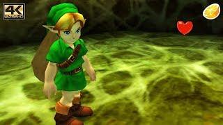 Citra 3DS Emulator - The Legend of Zelda: Ocarina of Time 3D Gameplay 4K 2160p (Canary - 33e81ef)