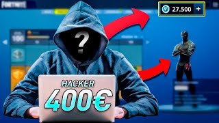 I HACK IN FORTNITE AND IT WILL GASTAN 400 EUROS IN MY ACCOUNT! BATTLE PASS TO THE MAXIMUM!!