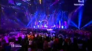 Estonia Eurovision 2011 HQ - Getter Janni - Rockfeller Street