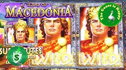 😄 King of Macedonia slot machine w/Bonus, Big Win, Happy Goose