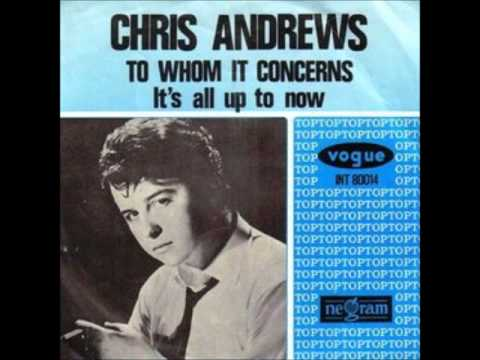 Chris Andrews To Whom It Concerns