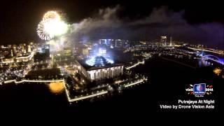 Putrajaya At Night - Visit Malaysia 2014 by Drone Vision Asia