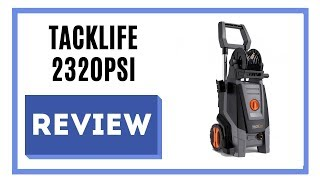 TACKLIFE Pressure Washer 2320PSI Review 💦