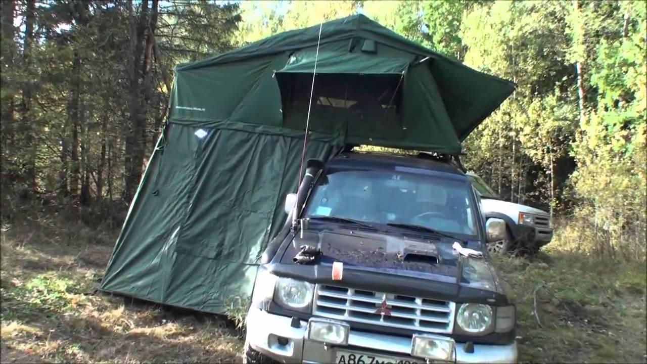Палатка на рыбалке - YouTube