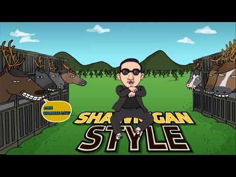 PSY - GANGNAM STYLE (강남스타일) PARODY! SHAWNIGAN STYLE!