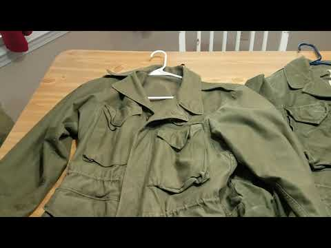How To Identify Military Field Jackets