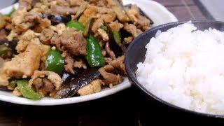 Juicy Miso Pork Veggy Dish (No Talk No BGM 77)