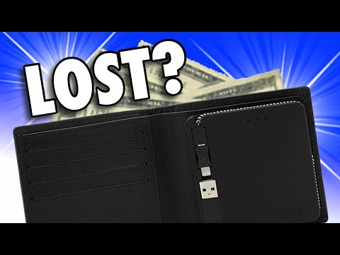 ORBIT WALLET - Bluetooth Item Finder,  Rechargeable Battery, & RFID Wallet