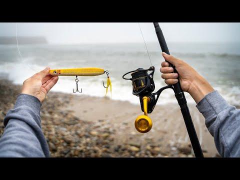 Surf Fishing For LEGENDARY Fish -- Montauk, New York