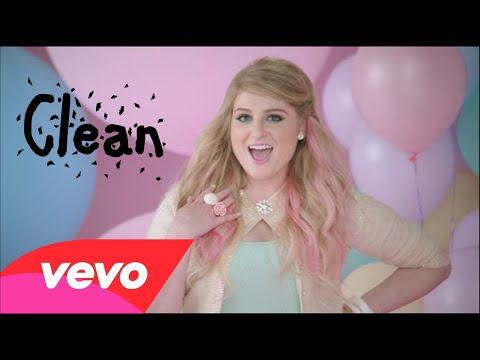 Meghan Trainor   All About That Bass Clean