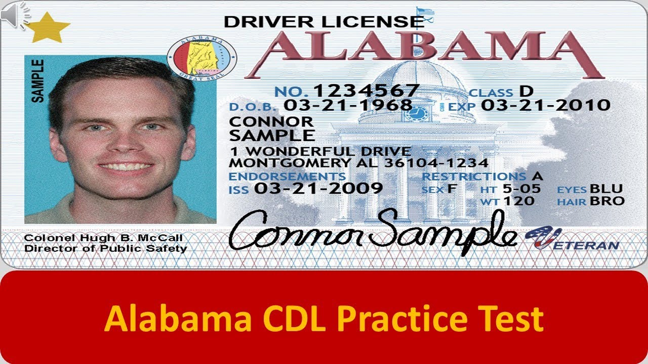 drivers license alabama practice test