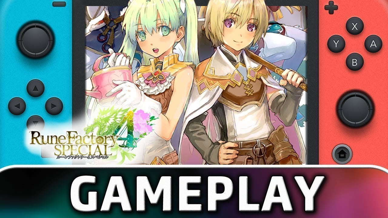 Rune Factory 4 Special | 5 Minutes of Gameplay on Nintendo Switch