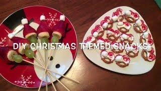 ♡ DIY Christmas Themed Snacks || Heyiamgrace Thumbnail