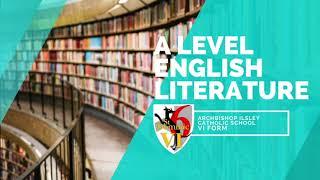 A Level English Literature
