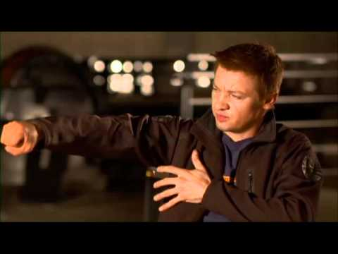 The Avengers - Jeremy Renner- Hawkeye Interview
