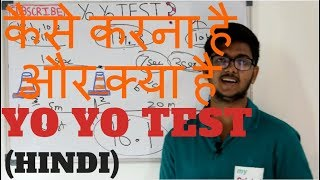 Yo Yo test  what is yo yo test?????