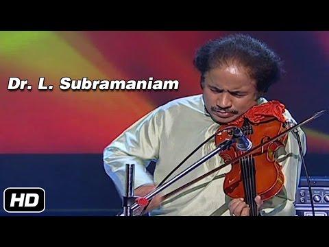 Dr L Subramaniam Violin | Niravadi Sukhada | Carnatic Classical | Idea Jalsa | Art and Artistes