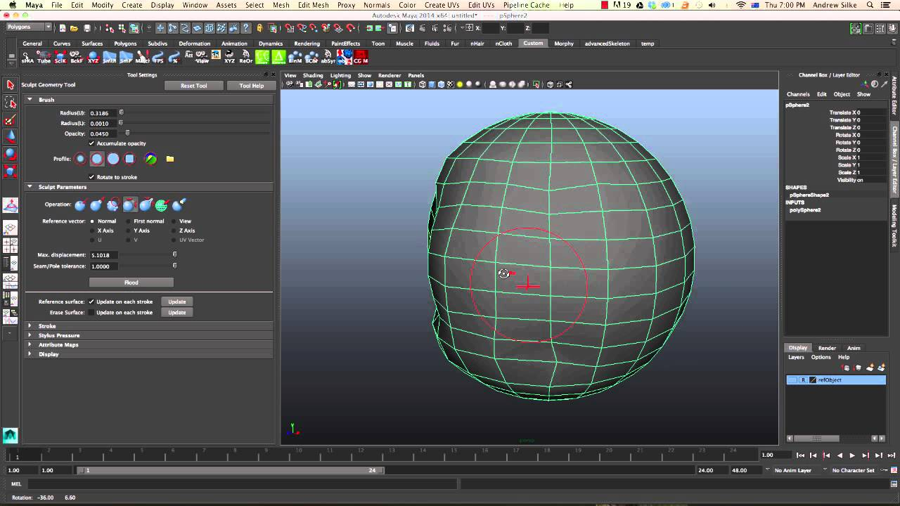 How To Smooth Edges In Maya
