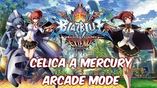 BlazBlue Chrono Phantasma Extend Celica Arcade Mode