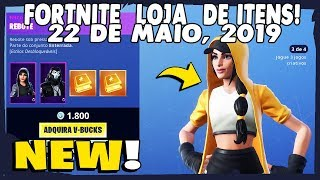 Compra de artículos Fortnite-today's shop 22/05/2019 new Skins