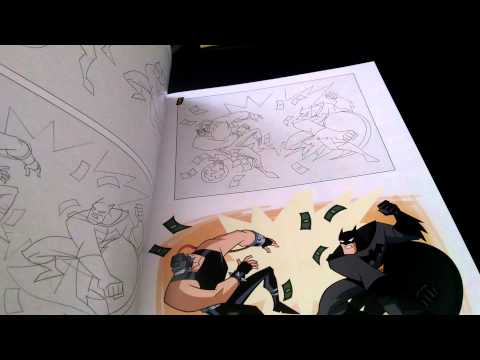 HOW TO DRAW BATMAN/SUPERMAN ANIMATED SERIERS