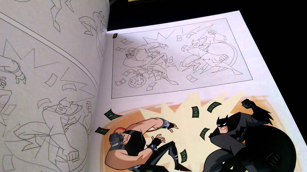HOW TO DRAW BATMAN SUPERMAN ANIMATED SERIERS