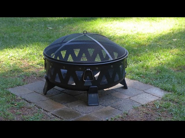 Installing A Paver Base For A Metal Fire Pit Youtube