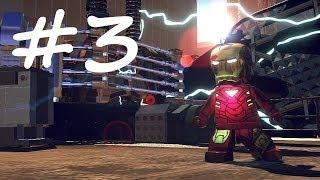 Lego Marvel Superheroes Gameplay walkthrough part 3