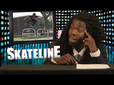 SKATELINE - Tiago Lemos VS Wade Desarmo, Stephen Lawyer, Daan Van Der Linden, William Spencer