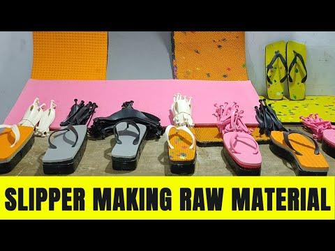 Slipper Making Materials | Dies, Strap, Sheet Manufacturer | Best Price From Factory
