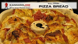 Kamado Joe Pull-apart Pizza Bread
