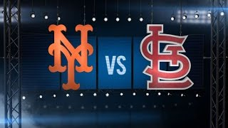 8/23/16: Flores, Ruggiano homer as Mets down Cards