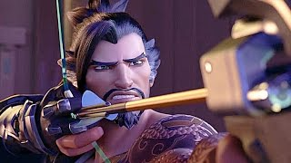 """Overwatch Animated Short Cinematic """"Dragons"""""""