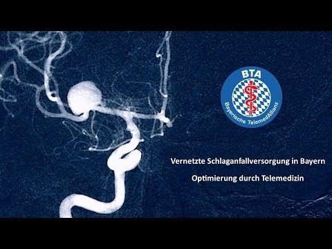 Die telemedizinische Schlaganfallversorgung in Bayern