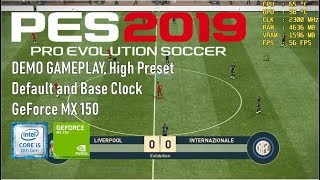 Pes 2019 Gameplay On Mx150