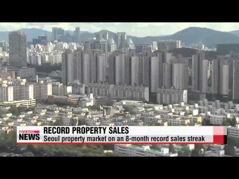 Seoul real estate market on 8 month record streak   서울 아파트 거래량 8개월 연속 최대