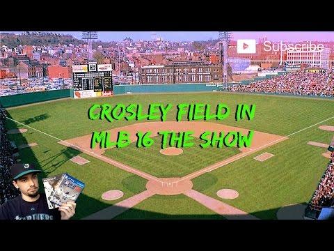 MLB 16 The Show: Crosley Field