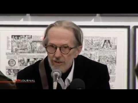 Exposition Robert Crumb - MAM 2012 reportage ARTE