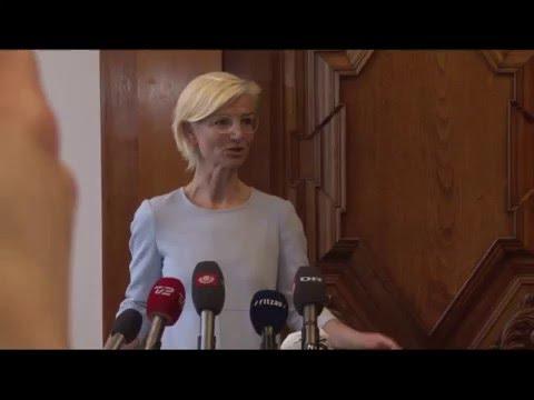 Tale ved ministeroverdragelsen: Ulla Tørnæs