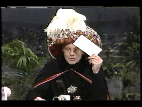Image result for Johnny as carnac