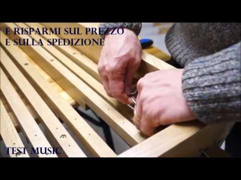 TEST MUSIC Hauptwerk - Video montaggio pedaliere midi in kit