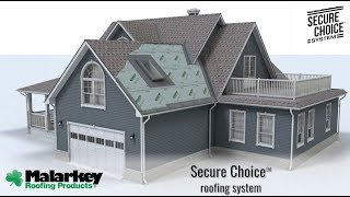Secure Choice™ Roof Systemwith Designer Shingles video thumbnail