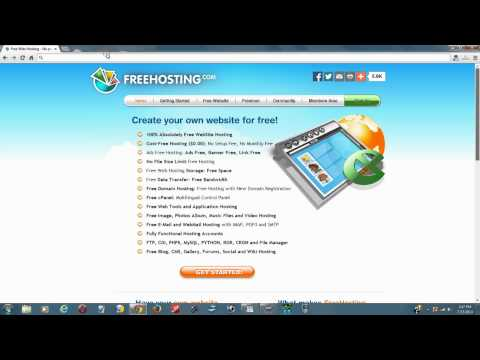 The Top 10 Free Website Hosting Services With No Ads For 2014 - Best Free Web Hosting Providers List