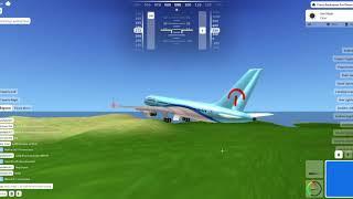 Roblox AFS, 757 Décollage et atterrissage
